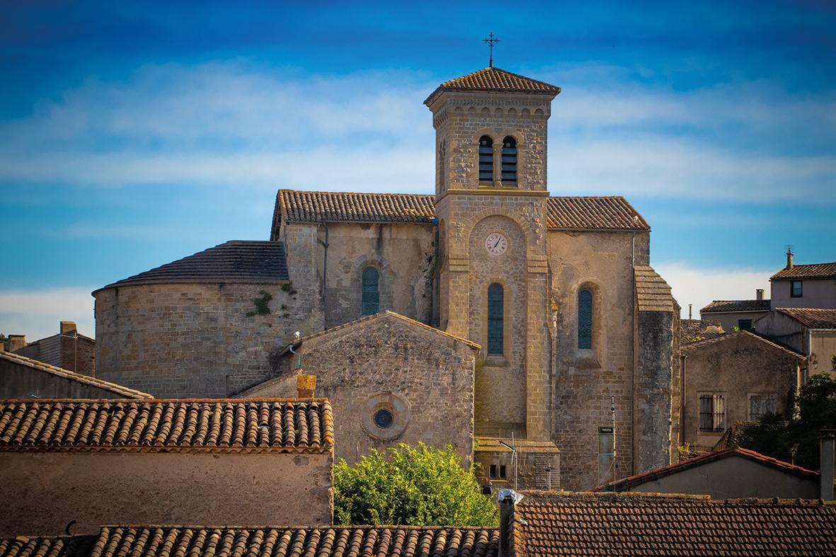 Abbaye Saint-Hilaire - Aude