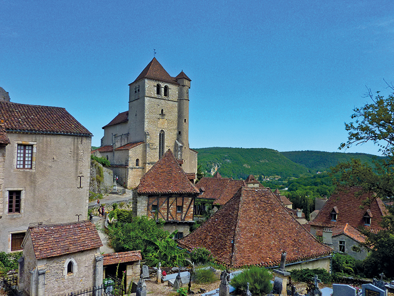 Lot - Église Saint-Cirq-et-Sainte-Juliette