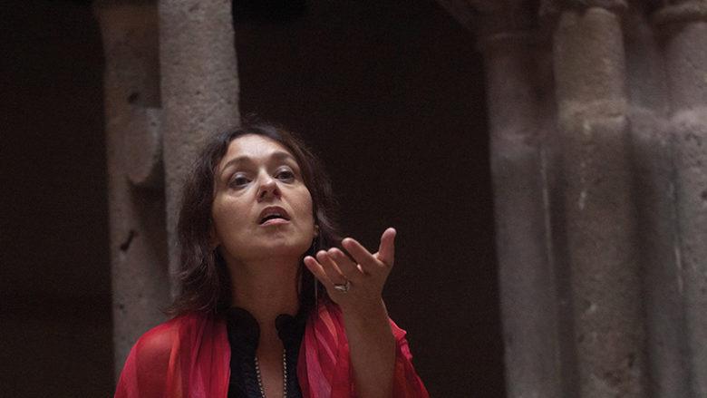 Muriel Batbie Castell Miegterrana - Festival les Troubadours chantent l'art roman en Occitanie